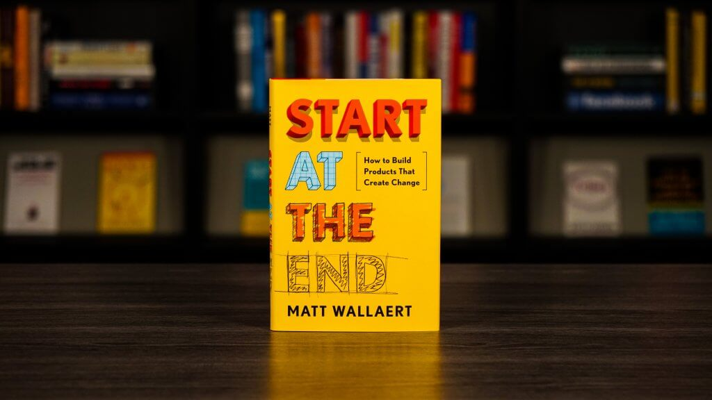 Start At The End Book Cover