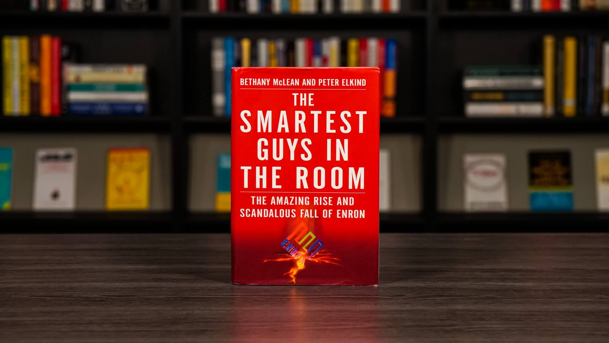 The Smartest Guys In The Room Book Cover