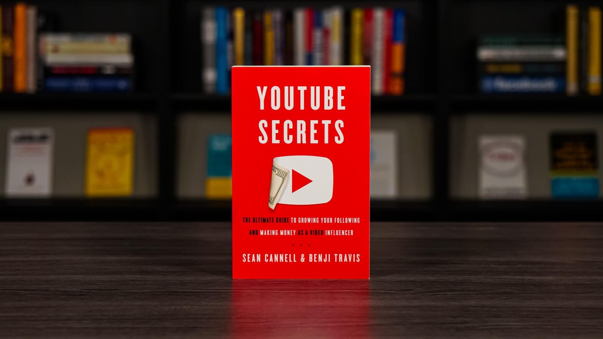 Youtube Secrets Book Cover