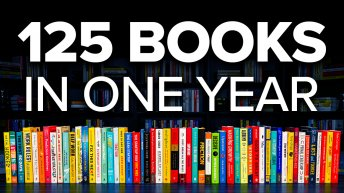 How To Read 125 Books In A Year Thumbnail