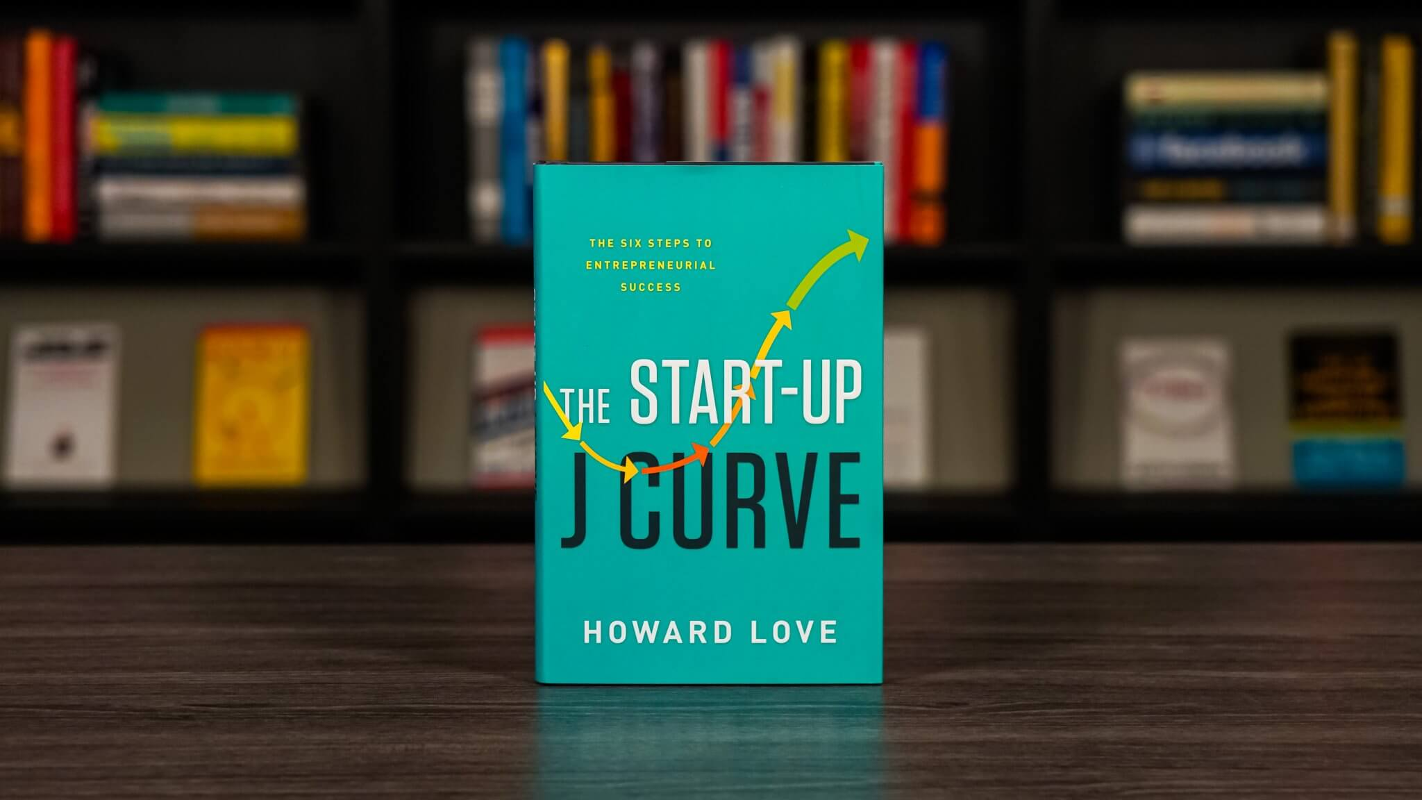 The Startup J Curve Book Cover