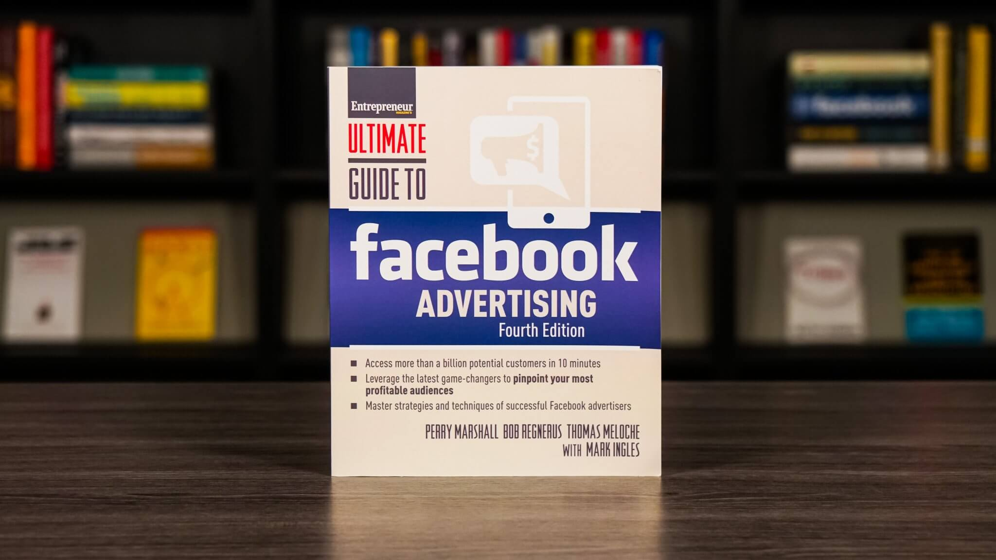 The Ultimate Guide To Facebook Advertising Book Cover