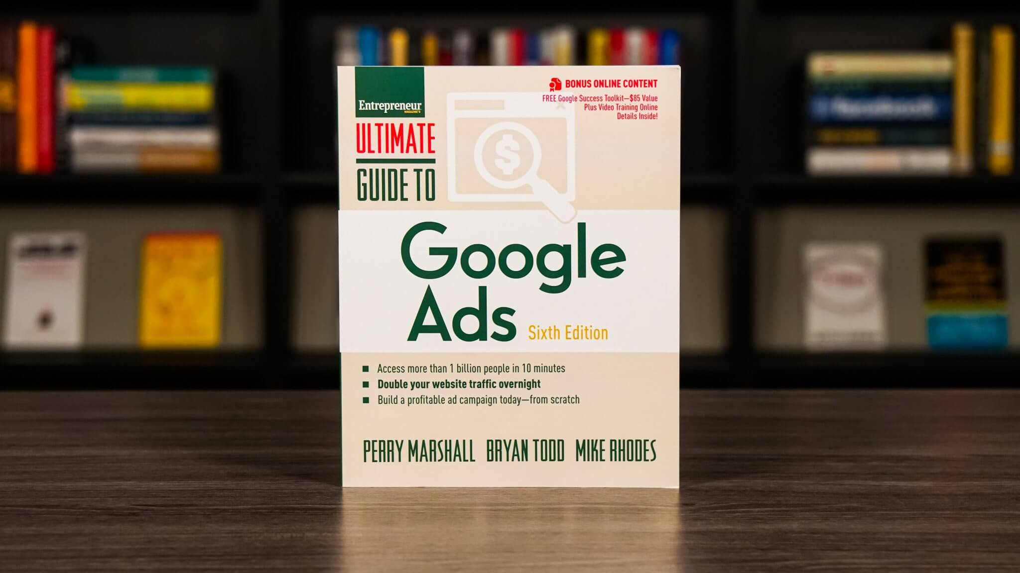 The Ultimate Guide To Google Ads Book Cover
