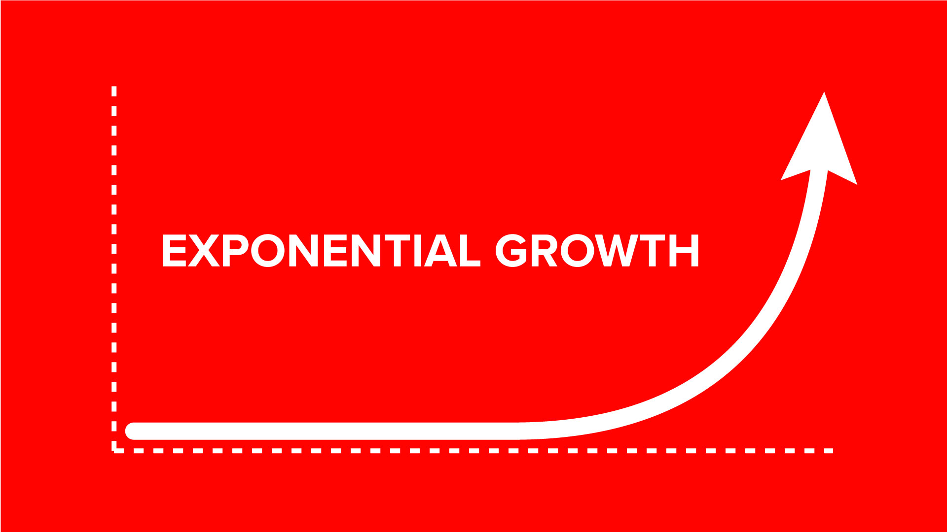 Exponential Growth Curve Of A Successful Podcast