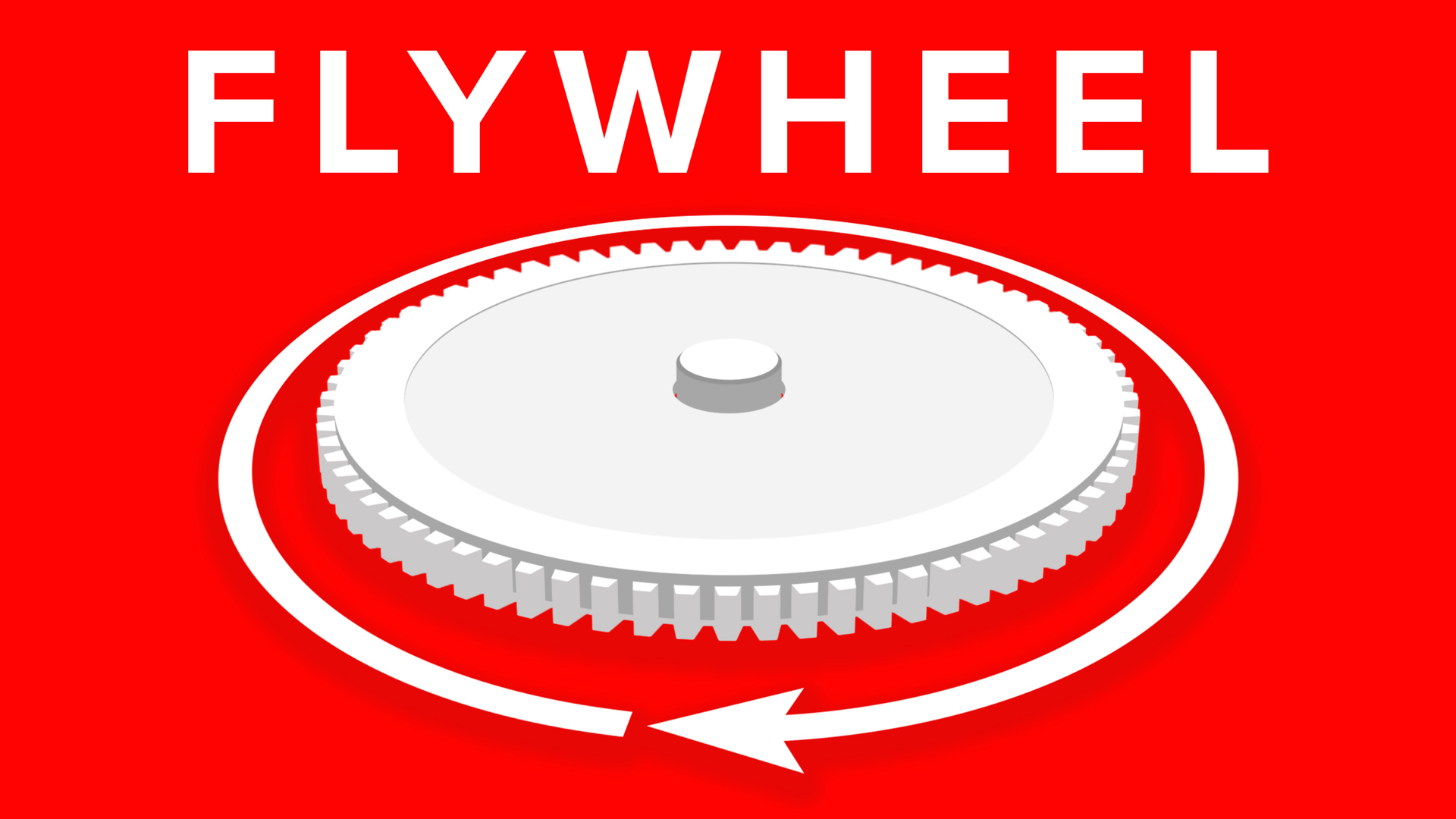 The Flywheel Concept From Good To Great Infographic 3D