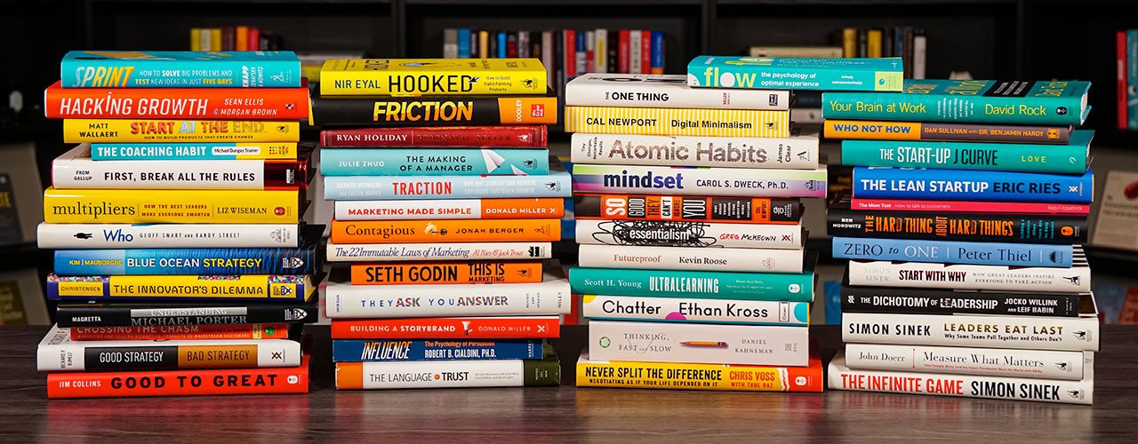 The 50 Best Business Books