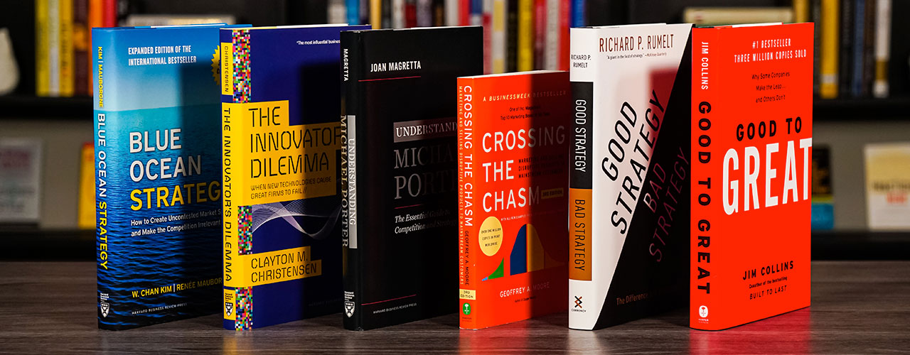 The Best Business Strategy Books